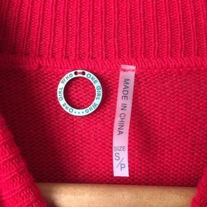 One Girl Who Sweaters - One Girl Who Cashmere Blend Turtleneck Sweater 726